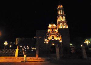El Rosario Pueblo Mágico Nocturno 2017