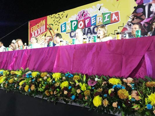 Inauguración Expo Feria Canaco Mazatlán 2017 a