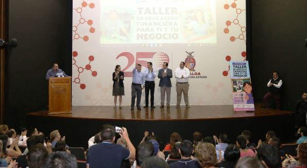 Inauguración Taller Educación Financiera Culiacán 2017 Sedeco Federal Estatal