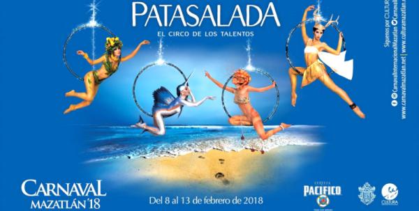 Carnaval de Mazatlán 2018 Patasalada