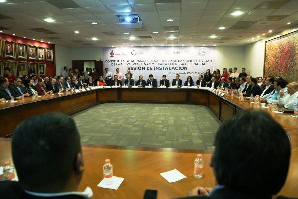 INADEM Apoya a Pyemes Sinalao 2018 Instalación de Consejo