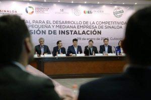 Javier Lizárraga Mercado Sedeco Sinaloa Secretario INADEM 2018