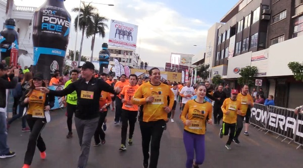 XXIX Maratón Internacional de Culiacán Inicio y final 2018 1