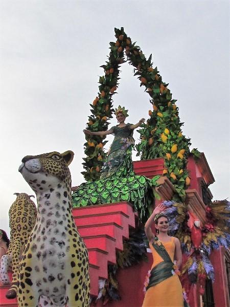 Carroza Real del Carnaval de Mazatlán 2018