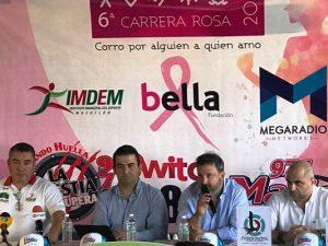 Ganadorea quinta Carrera Rosa 2017 Mazatlán 1