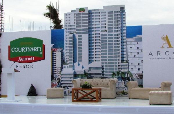Lanzamiento Proyecto Marriot Courtyard y Arcos Condominios Baech Resorts 2018